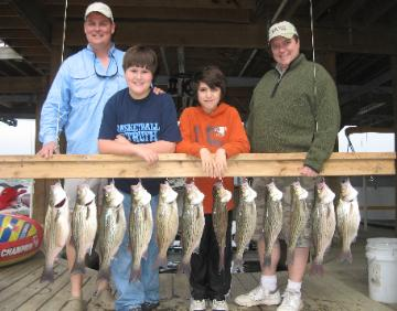 The fish dude 39 s guide service lake conroe guided fishing for Lake conroe fishing report